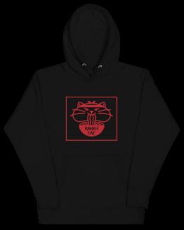ramen cat hoodie