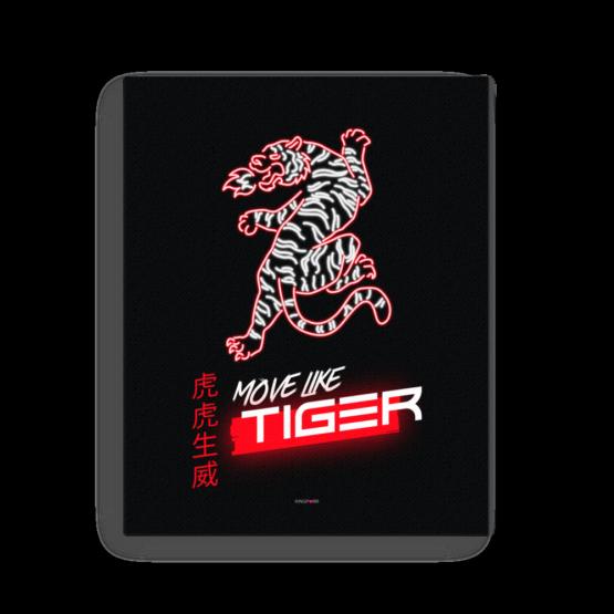 move like tiger canvas 16x20 wall