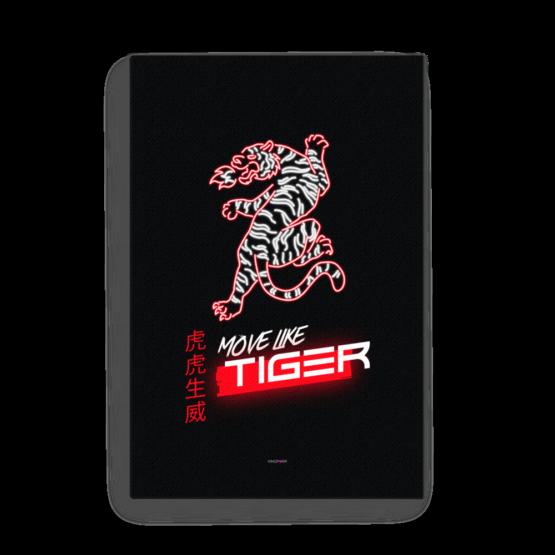 move like tiger canvas 24x36 wall