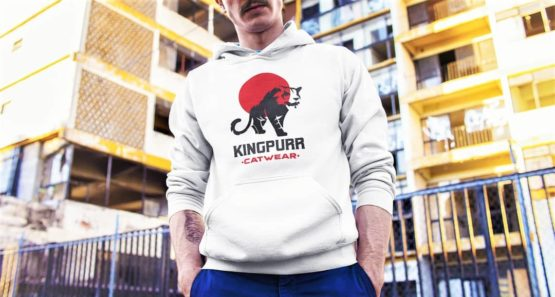kingpurr catwear premium hoodie insta