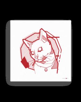 the feline canvas wall