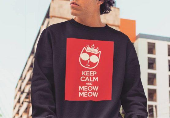 keep calm and meow meow insta