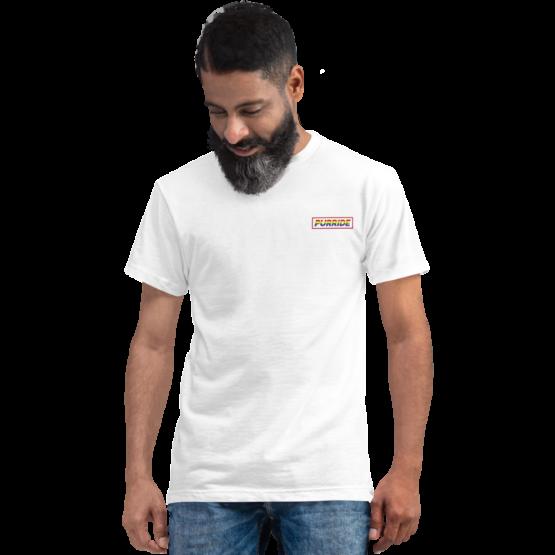 cat purride eco t-shirt black white