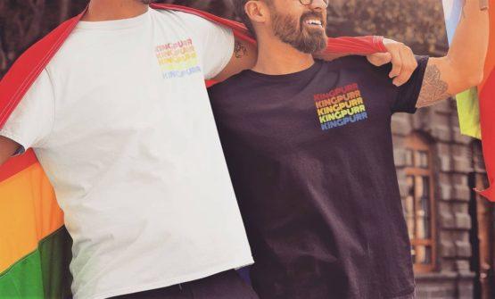 kingpurr pride eco t-shirt insta