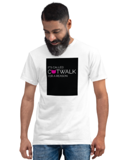 catwalk eco t-shirt man white