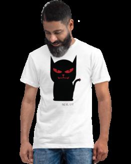 devil cat eco t-shirt man