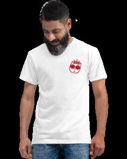 majestic cat eco t-shirt man white