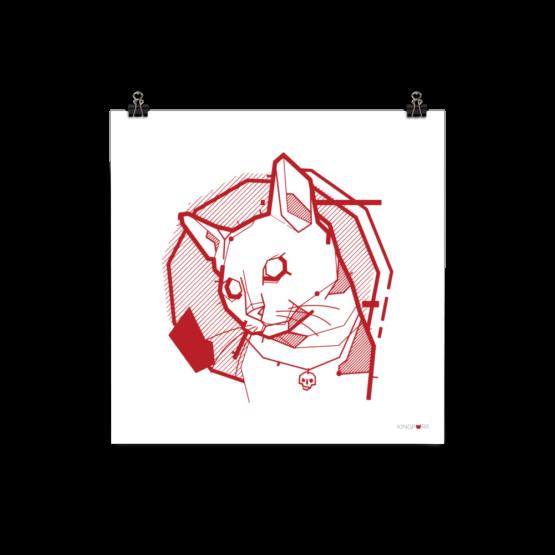 the feline poster clip