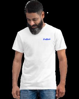 cattitude eco t-shirt man white