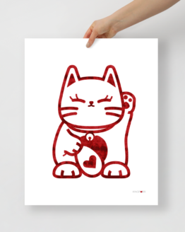 love cat poster 16x20 front